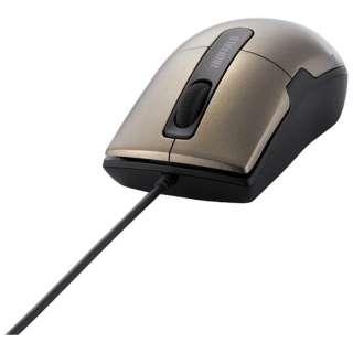 BSMBU26SSBW マウス BSMBU26SSシリーズ ブラウン  [BlueLED /3ボタン /USB /有線]