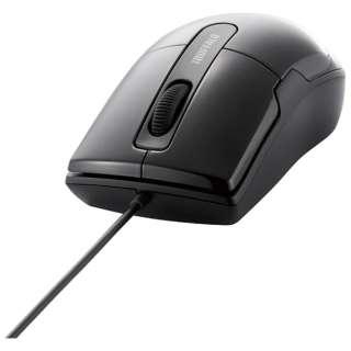BSMBU26SMBK マウス BSMBU26SMシリーズ ブラック  [BlueLED /3ボタン /USB /有線]