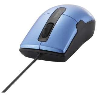 BSMBU26SMBL マウス BSMBU26SMシリーズ ブルー  [BlueLED /3ボタン /USB /有線]