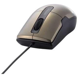 BSMBU26SMBW マウス BSMBU26SMシリーズ ブラウン  [BlueLED /3ボタン /USB /有線]