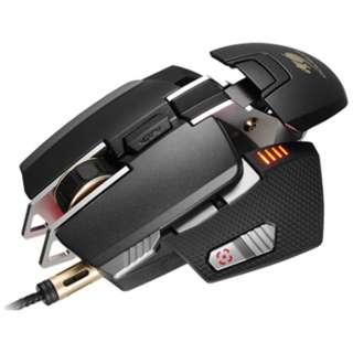 CGR-WLMB-700 ゲーミングマウス 700M ブラック  [レーザー /8ボタン /USB /有線]