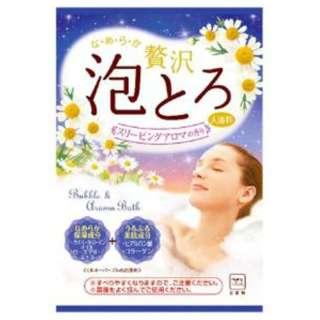 お湯物語 贅沢泡とろ入浴料 スリーピングアロマの香り(30g) [入浴剤]