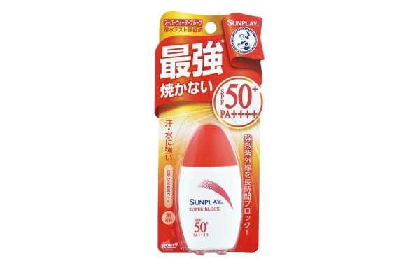 9位:ロート製薬「Mentholatum(メンソレータム)サンプレイスーパーブロック」(ミルク)