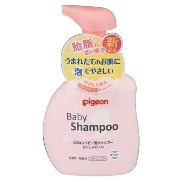 ピジョン 泡シャンプー ベビーフラワーの香り 350ml