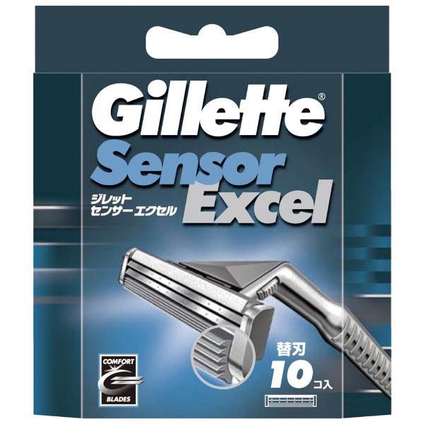 P&G ジレット センサーエクセル 替刃 10個