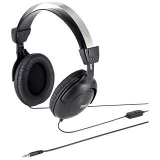 MM-HS528TAB ヘッドセット [φ3.5mmミニプラグ /両耳 /ヘッドバンドタイプ]