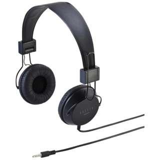 MM-HS527TABBK ヘッドセット ブラック [φ3.5mmミニプラグ /両耳 /ヘッドバンドタイプ]