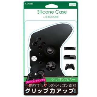 Xbox One用コントローラーシリコンカバー ブラック【XboxOne】