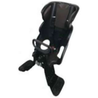 フロント用チャイルドシート ルラビーデラックス(ブラック×ブラウン) FCS-LD2