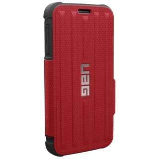 online store 7fd4e c4ac3 ビックカメラ.com - Galaxy S6用 フォリオケース レッド URBAN ARMOR GEAR UAG-GLXS6F-RED