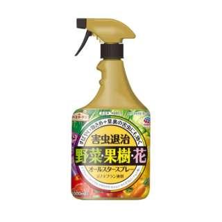 オールスタースプレー 1000ml 〔忌避剤・殺虫剤〕