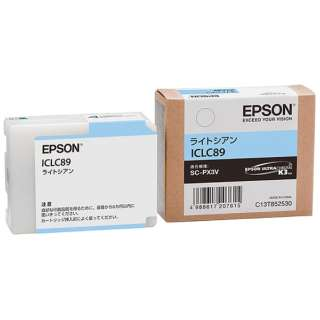 ICLC89 純正プリンターインク Epson Proselection ライトシアン
