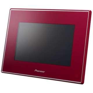 Biccamera Com Pioneer Hf T750 Digital Photo Frame Red 7 Inches