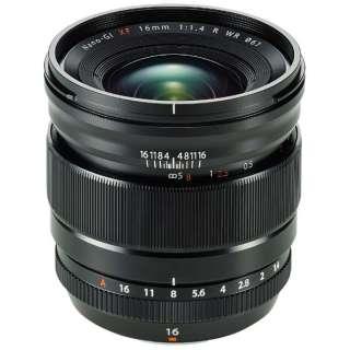 カメラレンズ XF16mmF1.4 R WR FUJINON(フジノン) ブラック [FUJIFILM X /単焦点レンズ]