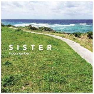 back number/SISTER 通常盤 【CD】