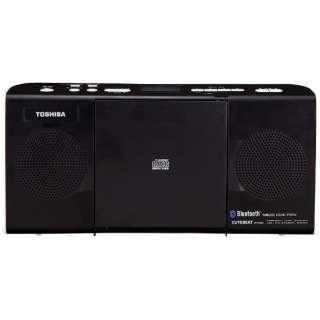 TY-CW26 CDラジオ ブラック [Bluetooth対応 /ワイドFM対応]
