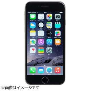 iPhone 6用 Chemically Toughened Glass Screen Protector ブラック DG-IP6FG5FBK