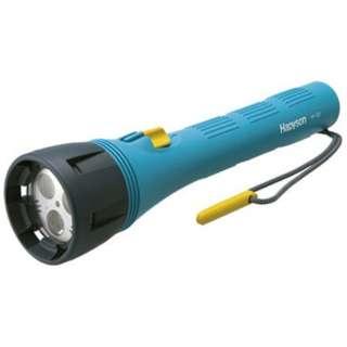 YF-153 懐中電灯 水中強力ライト Hapyson [LED /単1乾電池×4 /防水]