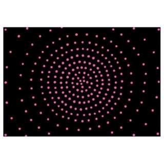 【まくらカバー】のびのび サークル フリーサイズ(36×52cm/ピンク)[生産完了品 在庫限り]