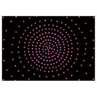 【まくらカバー】のびのび サークル フリーサイズ(36×52cm/レッド)【BOX入り】[生産完了品 在庫限り]