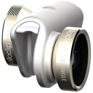 スマートフォンカメラ 4in1 LENS iPhone6/6Plus OCEUIPH6FW2MGDW[生産完了品 在庫限り]