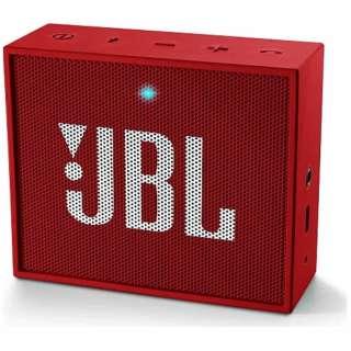 JBLGORED ブルートゥース スピーカー レッド [Bluetooth対応]