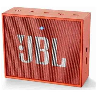 ブルートゥース スピーカー JBLGOORG オレンジ [Bluetooth対応]