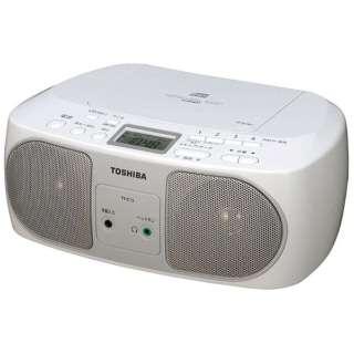 TY-C15 CDラジオ シルバー [ワイドFM対応]