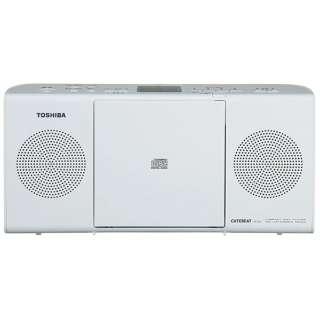 TY-C24 CDラジオ ホワイト [ワイドFM対応]