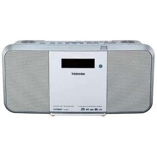 TY-CRX71 CDラジオ ホワイト [ワイドFM対応]