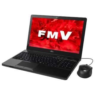 FMVA45UBP ノートパソコン LIFEBOOK(ライフブック) シャイニーブラック [15.6型 /HDD:1TB /メモリ:4GB /2015年5月モデル]