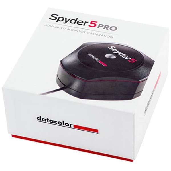 モニターキャリブレーション  Spyder 5 PRO