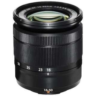 カメラレンズ XC16-50mmF3.5-5.6 OIS II FUJINON(フジノン) ブラック [FUJIFILM X /ズームレンズ]