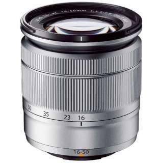 カメラレンズ XC16-50mmF3.5-5.6 OIS II FUJINON(フジノン) シルバー [FUJIFILM X /ズームレンズ]