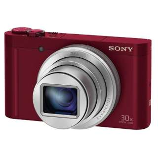 DSC-WX500 コンパクトデジタルカメラ Cyber-shot(サイバーショット) レッド