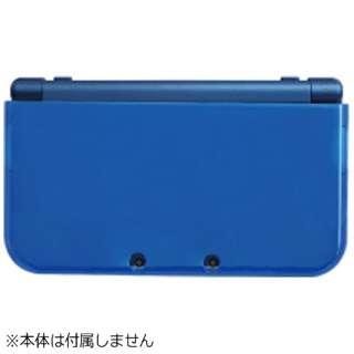 TPUやわカタカバー for Newニンテンドー3DS LL クリアブルー【New3DS LL】
