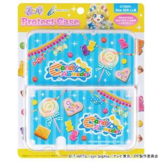 プリパラ プロテクトケース(New 3DS LL用) Candy Alamode【New3DS LL】