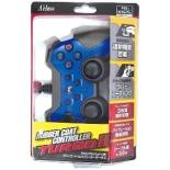 PS3/PSVitaTV用ラバーコントローラーターボ2(ブルー×ブラック)【PS3/Vita TV】