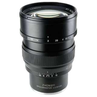 カメラレンズ 85mm F1.2 SPEEDMASTER ブラック [ソニーE /単焦点レンズ]