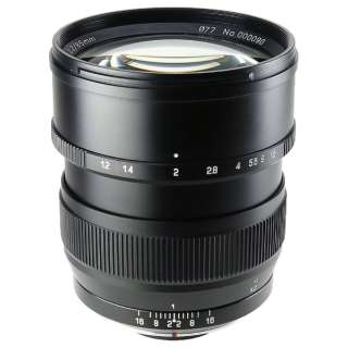 カメラレンズ 85mm F1.2 SPEEDMASTER ブラック [ニコンF /単焦点レンズ]
