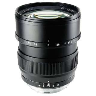 カメラレンズ 85mm F1.2 SPEEDMASTER ブラック [キヤノンEF /単焦点レンズ]