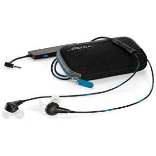 イヤホン カナル型 QuietComfort20 Acoustic Noise Cancelling headphones ブラック IP BK QC20 [リモコン・マイク対応 /φ3.5mm ミニプラグ /ノイズキャンセリング対応]