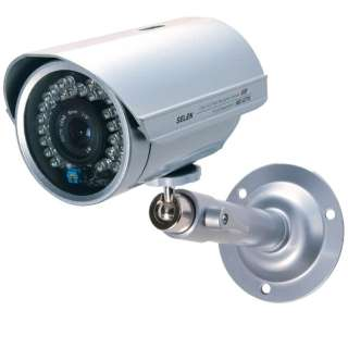 アナログ対応カラー監視カメラ【赤外線投光器内蔵・防水タイプ】 SEC-G775
