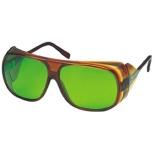 2眼型遮光メガネガス溶接用 YW280