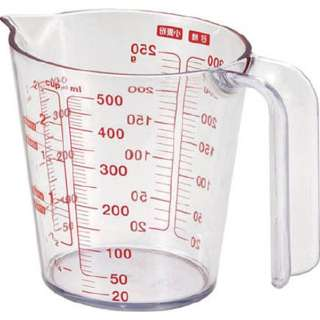 耐熱計量カップ O-500 500ml 2323
