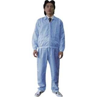 ジャケット(衿付)-青-L BSC41001BL