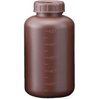 フロロバリア遮光広口瓶 1L 26231