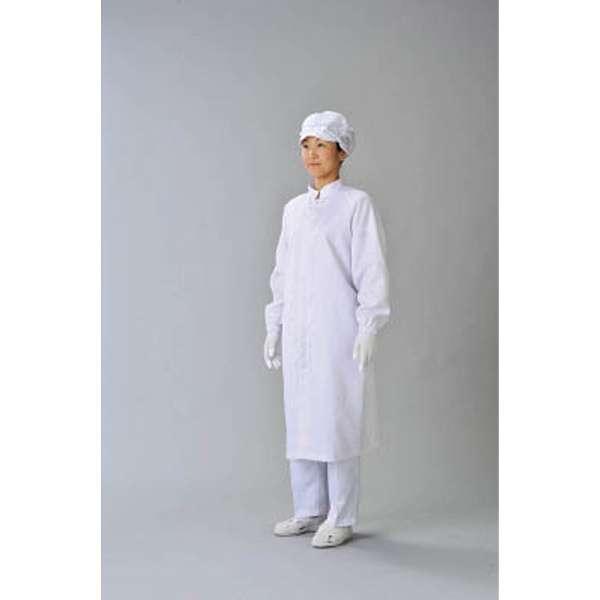 クリーン実験衣 白 LL CJ21851LL 《※画像はイメージです。実際の商品とは異なります》