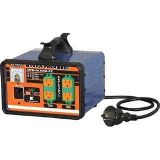 三相200V 変圧器 降圧専用セットコンセントトラパック アース過負荷漏電しゃ断器付 NTBEK300DCC