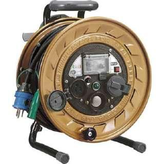 メタルセンサーリール 単相100V接地付 30m 接地抵抗可変式 MSB301KVX